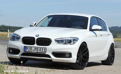 BMW 120d mit 20 Zoll Breyton GTS2 und Hankook S1 EVO