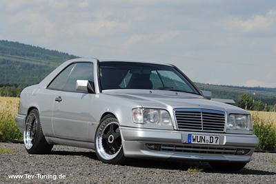 Mercedes Benz 320 CE W124 mit 18 Zoll OZ Futura