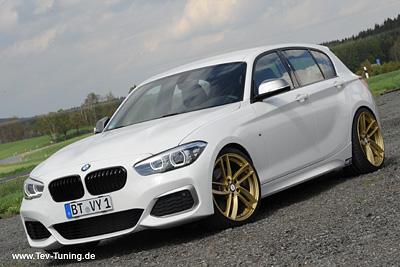 BMW M140i mit 19 Zoll DeLuxe Wheels ELiTE Gold glänzend