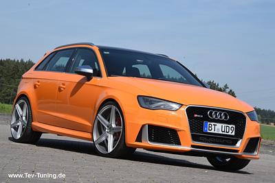 Audi RS3 mit 9×20 Zoll MB Design KV1