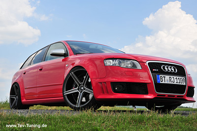Audi RS4 mit 20 Zoll Concave KV1 von mbdesign