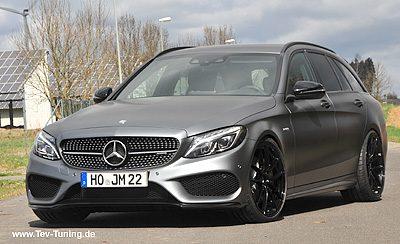 Mercedes Benz C43 AMG mit 20 Zoll OZ Leggera HLT