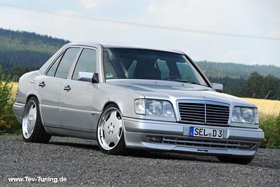 Mercedes Benz 420E W124 mit 18 Zoll AMG
