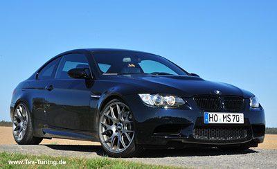 BMW M3 mit 20 Zoll BBS CH-R in Titan Matt