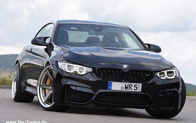 BMW M4 mit 10×21 und 11,5×21 WORK ZE1