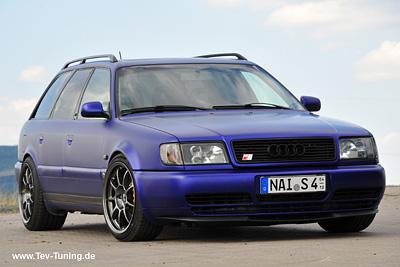 Audi 100 Avant C4 mit 9×18 und 11×18 Zoll OZ Alleggerita HLT