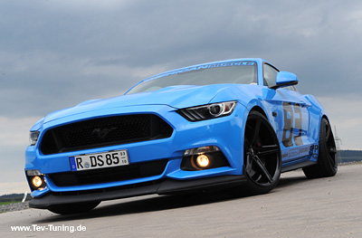 Mustang 5.0 mit 20 Zoll Oxigin 18 Concave Black