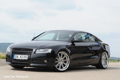 Audi A5 (8T) mit 20 Zoll Work Varianza