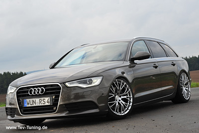 Audi A6 Avant mit 20 Zoll BE Felgen