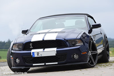Ford Mustang GT 500 Shelby mit 9×21 Zoll und 11,5×21 Zoll Oxigin 18