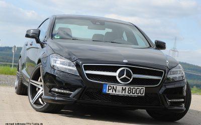 Mercedes Benz CLS 500 mit Art Form AF301 in 20 Zoll